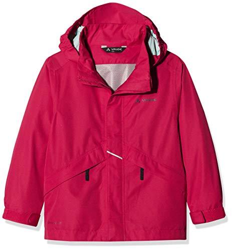 VAUDE Kinder Jacke Escape Light III, Regene, crimson red, 110/116, 409739771160