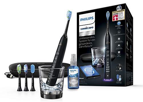 Philips Sonicare DiamondClean Smart Schallzahnbürste HX9924/13 mit 5 Putzprogrammen, 3 Intensitäten,...