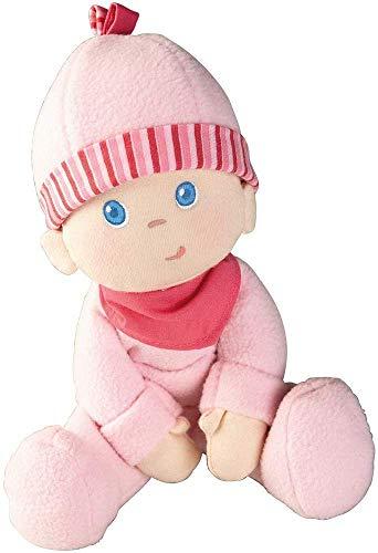 Haba Kuschelpuppe Luisa, weiche Stoffpuppe für Babys ab 0 Jahren