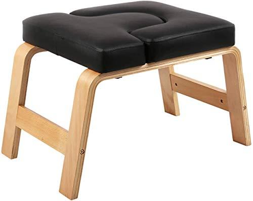 Yoga Kopfstand-Hocker,Yoga-Hocker Yoga Handstand Bench Multifunktionaler Yoga-Umkehrhocker Yoga Hilft...