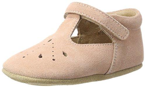 Bisgaard Baby-Mädchen Bloom Krabbelschuhe, Pink (12 Peach), 20 EU