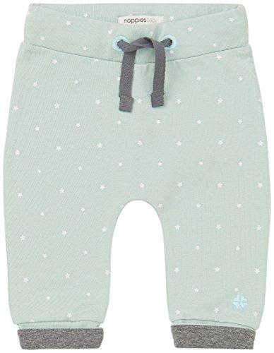 Noppies Unisex Baby Hose U Pants jrsy comfort Bo, Sternchen, Gr. 50 (Herstellergröße: 50), Grün (Grey Mint...