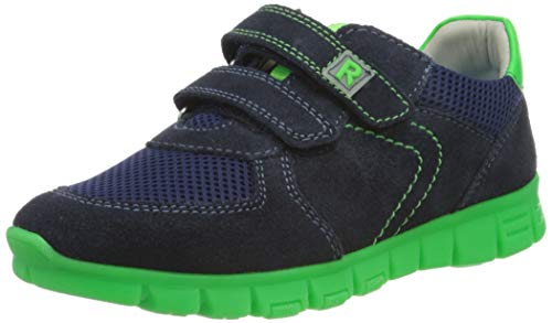 Richter Kinderschuhe Jungen Run Sneaker, Blau (Atlantic/Neon Green 7201), 29 EU