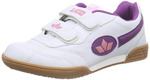 Lico Kinder Sportschuh Bernie V - weiß/lila/rosa 33