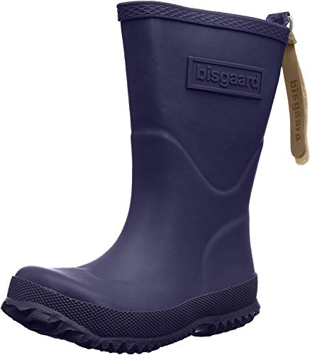 Bisgaard Unisex-Kinder Rubber Boot Basic Gummistiefel, Blau (21 navy), 30 EU