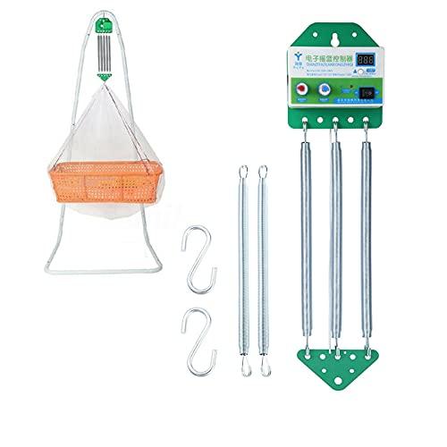 Elektrische Babyschaukel Controller Hängende Babywippe Controller Cradle-Steuerung mit Einstellbar Timer für...