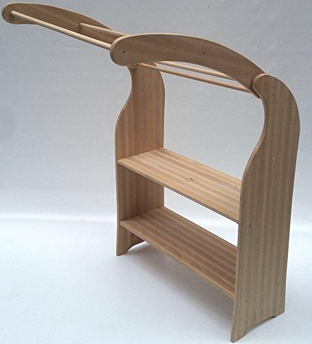 Holzspielzeug-Peitz Kinder-Massivholz-Spielständer 1020.1N - eine Seite Spielhaus - Kaufmannsladen