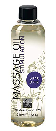 SHIATSU Erotisches Massageöl  Ylang-Ylang, Massageoil für die sinnliche Partnermassage zur Stimulation, mit...