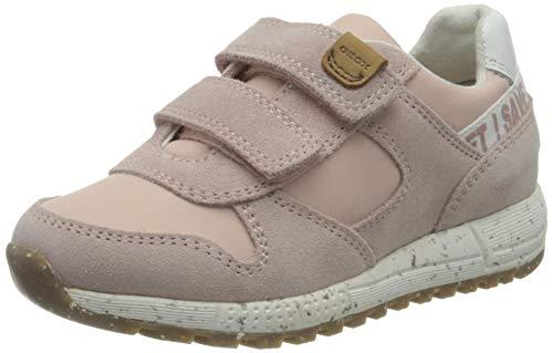 Geox B ALBEN Girl C Sneaker, LT Rose, 24 EU