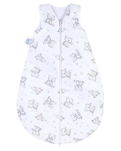 Julius Zöllner Baby Sommerschlafsack aus 100% Baumwolle, Größe 90, 12-24 Monate, Standard 100 by OEKO-TEX,...