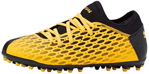 PUMA Unisex-Kinder Future 5.4 Mg Jr Botas de fútbol, Gelb (Ultra Yellow Black), 34 EU
