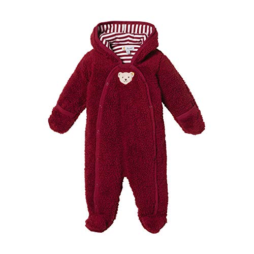 Steiff Baby - Mädchen Spieler , Rot (BEET RED 4010) , 74 (Herstellergröße:74)