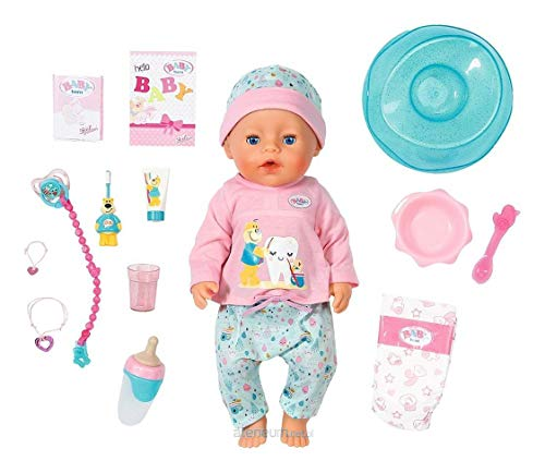 BABY Born Zapf – 827086 Soft Touch Badepuppe, 43cm