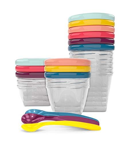 Babymoov Babybols Aufbewahrungsbehälter für Babynahrung - Multi-Set 15-teilig (3x120ml + 3x180ml + 6x250ml +...
