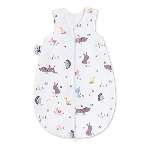 Julius Zöllner Baby Sommerschlafsack aus 100% Jersey Baumwolle, Größe 62, Standard 100 by OEKO-TEX, made in...