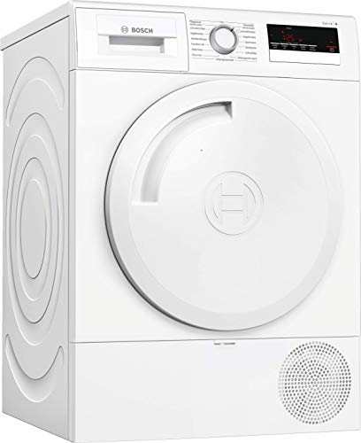 Bosch WTR83V00 Serie 4 Wärmepumpen-Trockner / A++ / 212 kWh/Jahr / 7 kg / Weiß / AutoDry / EasyClean Filter...