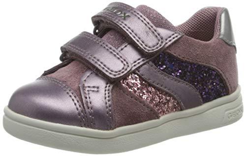 Geox Baby-Mädchen B DJROCK Girl A Sneaker, (Rose Smoke), 25 EU