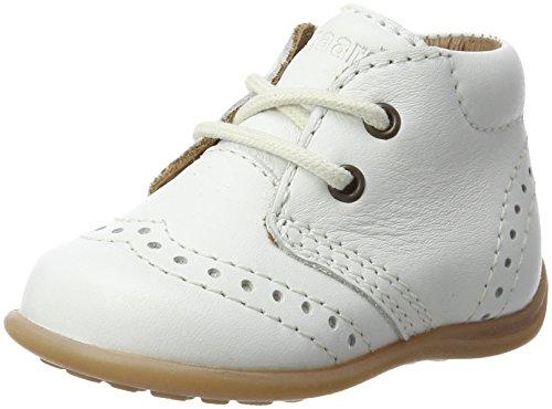Bisgaard Unisex Baby Lauflernschuhe Sneaker, Weiß (40 White), 21 EU
