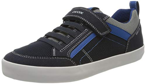 Geox Jungen J Kilwi Boy E Sneaker, Blau (Navy/Royal C4226), 29 EU