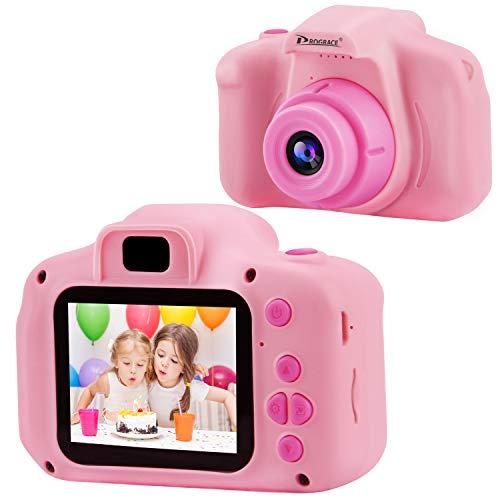 Prograce Kinder Kamera Kinder Digitalkameras für Mädchen Geburtstag Spielzeug Geschenke 4-12 Jahre altes...