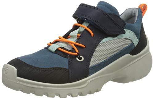 Ecco Jungen XPERFECTION Hohe Sneaker, Mehrfarbig (Night Sky/Indian Teal 51787), 31 EU