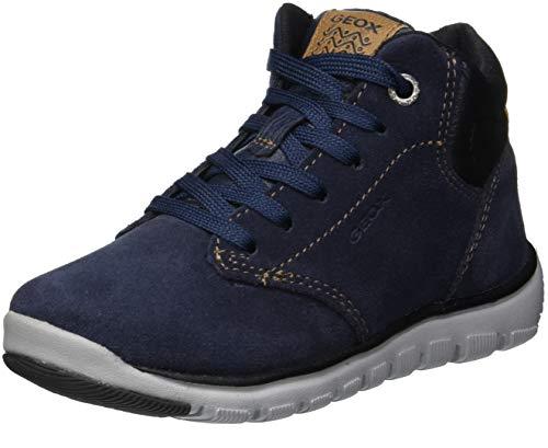 Geox Jungen J XUNDAY BOY A Chukka Boots, Blau (Navy/Black C0045), 36 EU