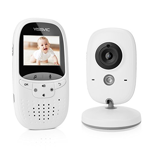 YISSVIC Babyphone 2.4GHz mit Kamera Wireless Video Baby Monitor VOX Nachtsicht Gegensprechfunktion...