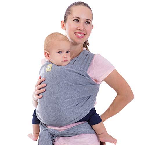 Tragetuch Alles-in-einem - Dehnbare Baby-Tragetücher - Babytrage - Kleinkindtrage - Baby-Tragetuch - Handfrei...