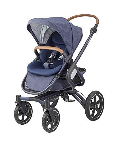 Maxi-Cosi Nova 4-Rad Kombi-Kinderwagen, großer, komfortabler Outdoor Kinderwagen mit Liegeposition, einfach...