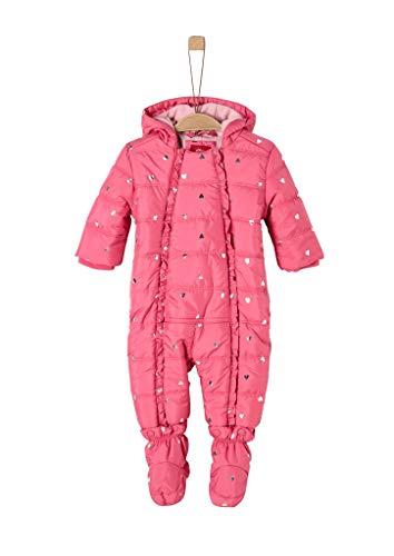 s.Oliver Baby-Mädchen 59.909.85.8871 Schneeanzug, Rot (Red AOP 45a1), (Herstellergröße: 86)