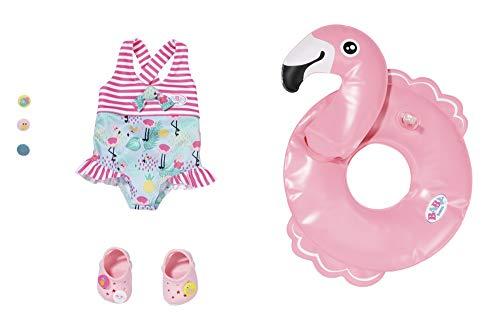 Zapf Creation 829707 BABY born Holiday Schwimmspaß Set, Puppenzubehör 43 cm