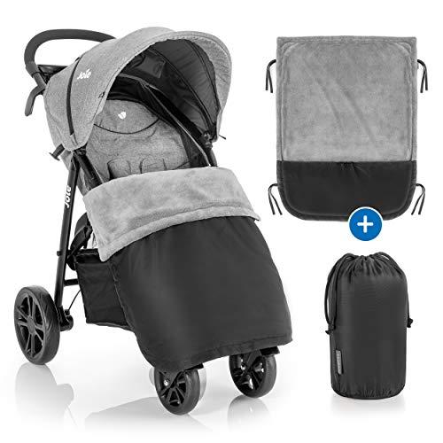 Zamboo Universal Decke für Kinderwagen und Buggy - wasserabweisende Outdoor Beindecke für Sportwagen &...