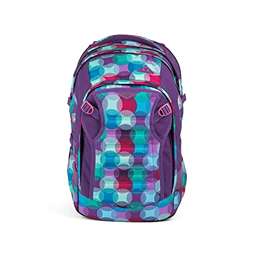 SATCH Hurly Pearly Kinder-Rucksack, 45 cm, Bunte Punkte, SAT-MAT-002-9C0