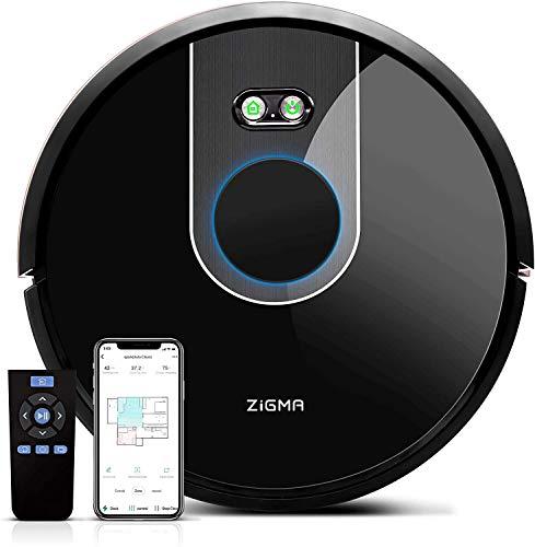 Zigma Spark Saugroboter, Staubsauger Roboter mit Wischfunktion, LDS Navigation und exklusive APP-Steuerung,...