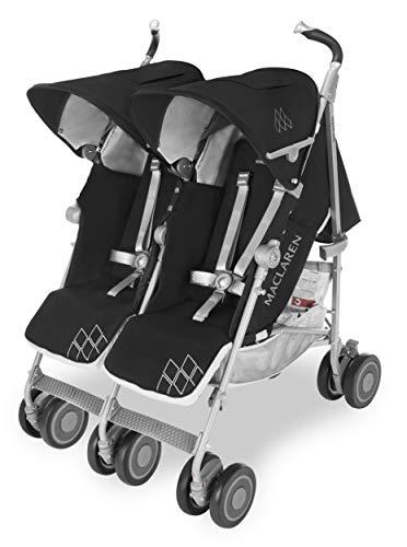 Maclaren Twin Techno Buggy – Für Neugeborene+. Voll ausgestattet, leicht, kompakt und einfach zu...