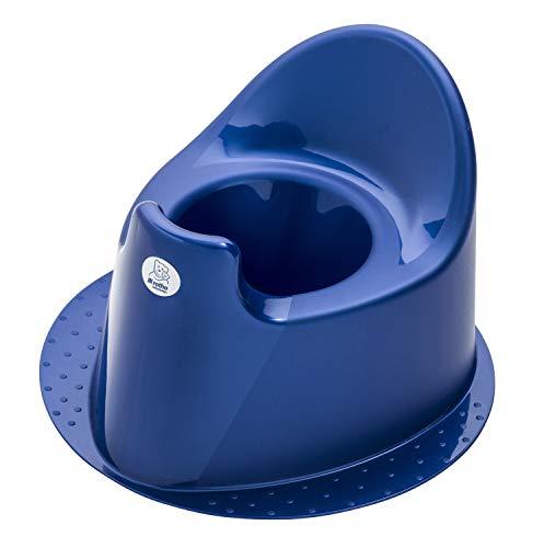 Rotho Babydesign TOP Kindertopf, Mit standfestem Fuß, Ab 18 Monate, TOP, Royal Blue Pearl (Dunkelblau),...