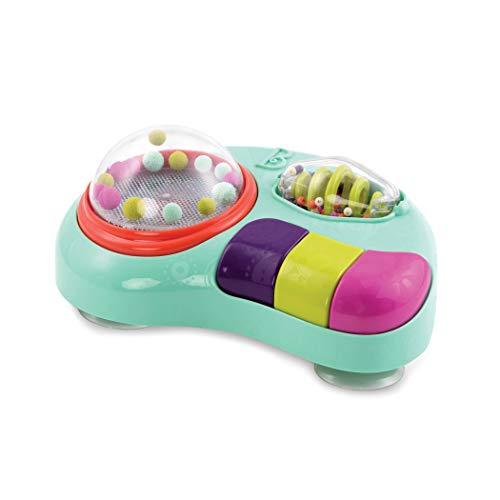 B. toys Baby Spielzeug für Hochstuhl mit Lichtern, Musik, Geräusche Lernspielzeug – Motorikspielzeug...