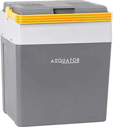 Aequator Tragbarer Kühlschrank, tragbare thermo-elektrische Kühlbox, 28 Liter, 12 V und 230 V für Auto,...