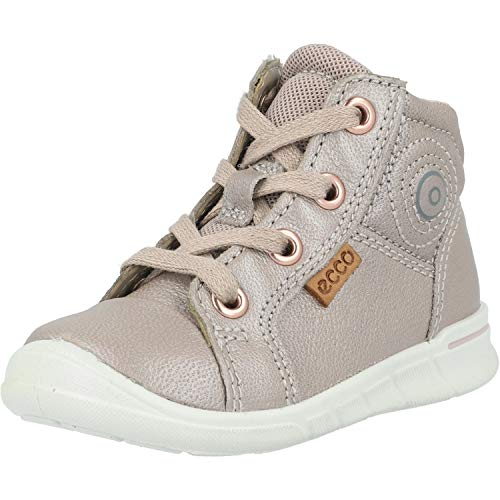 ECCO Baby-Mädchen First Sneaker, Grau (Grey Rose 1386), 23 EU