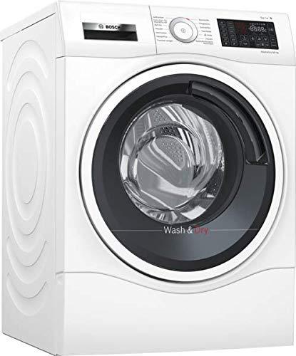 Bosch WDU28540 Serie 6 Waschtrockner / A / 1224 kWh/Jahr / 9/6 kg / 1400 UpM / Weiß mit Glastür / AutoDry /...