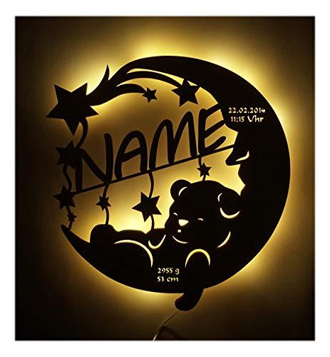 Led Lampe personalisiert Babygeschenk Sweet Dream Taufgeschenke Geschenke zur Geburt Kommunion Taufe Geschenk...