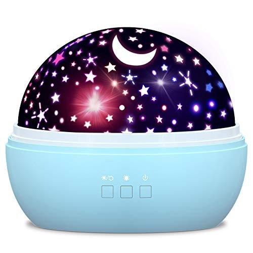 Spielzeug Junge 1-10 Jahre, Dreamingbox Sternenhimmel Projektor Nachtlicht für Kinder Spielzeug für Mädchen...