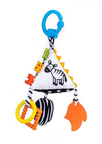 Balibazoo, 80136 Sensory Pyramid, Baby Spielzeug, Sensory Spielzeug, sensorischer Plüsch,,...