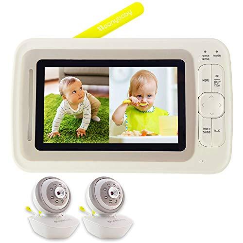 Moonybaby SPLIT 60-2 Video-Babyphone mit...