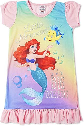 Disney Prinzessinnen-Nachthemd für Mädchen (5 bis 6 Jahre); Arielle, die Meerjungfrau
