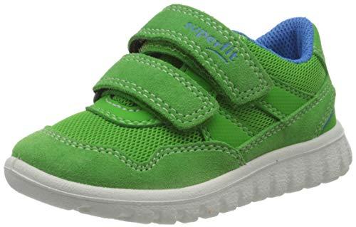 Superfit Jungen SPORT7 Mini Sneaker, Grün (Grün/Blau 70), 25 EU