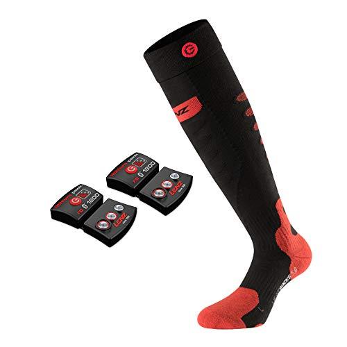 Lenz Heat Socks Set mit Akku 1800 mAh beheizbare Socken beheizt Heizsocken beheizte Socken Heated Socks...