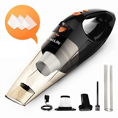 VacLife Handstaubsauger, kabellos, aufladbar, klein und handlich, mit hoher Leistung und Schnellladefunktion,...