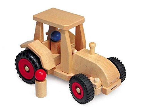 Fagus 10.29Holz Holz Spielzeug-Ziehen–Spielzeug Drag (Holz, Holz, Kinder/Mädchen, 4Wheel (S),...