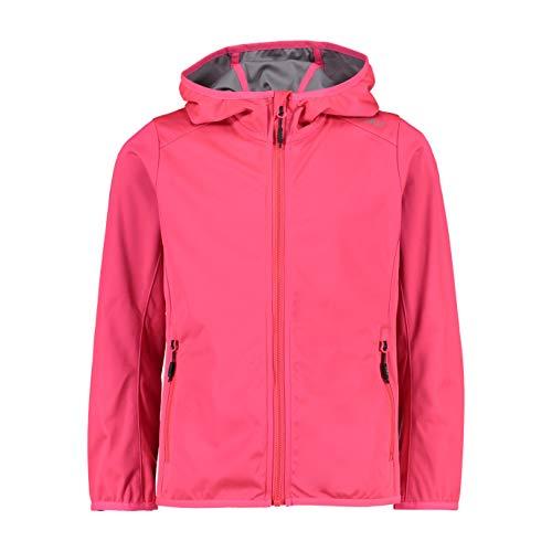 CMP Mädchen Softshell Jacket with Fixed Hood Jacke, Gloss, 152